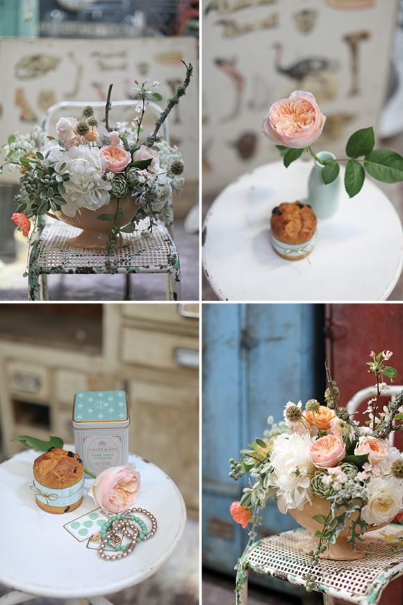 Colour Story | Mint, Peach & Gold. Styling and stationery by Kate Holland/Ruby & Willow, Florals by Leaf & Honey, Photography by Greta Kenyon