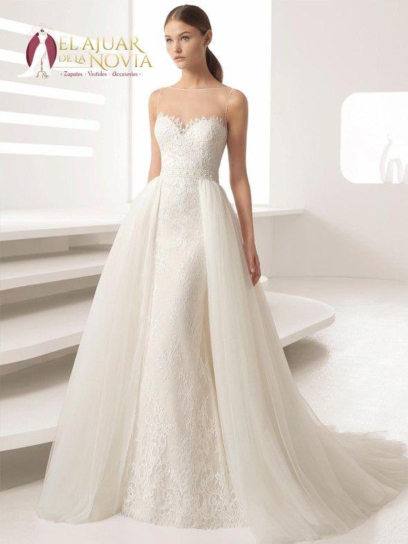 vestido de novia sirena alquiler estrene | boda en 2019 | pinterest