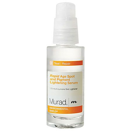 IF YOU NEED: A fast-acting dark spot corrector. Murad Rapid Age Spot and Pigment Lightening   Serum #BrightSkin..... We sell this at the spa! :) love it!
