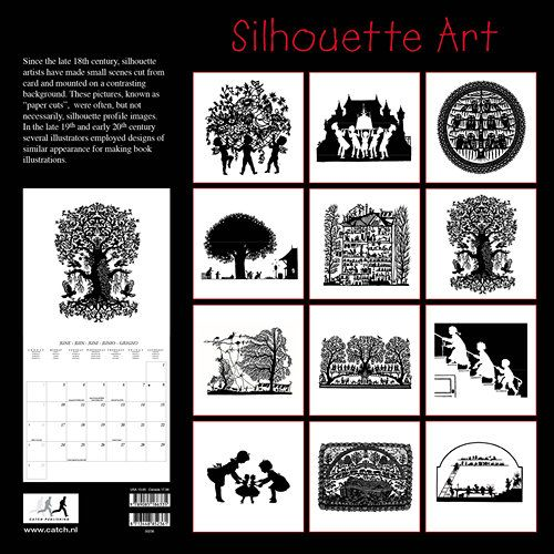 Art of the Silhouette 2013 Wall Calendar