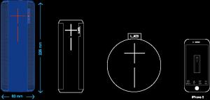 UE Megaboom Bluetooth Speakers
