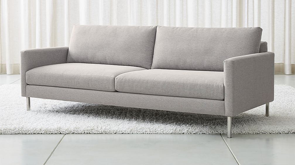 Width 85 Depth 37 Height 29 Crate And Barrel Studio Series Customizable Sofa Customizable Sofa Beautiful Sofas Leather Sofa