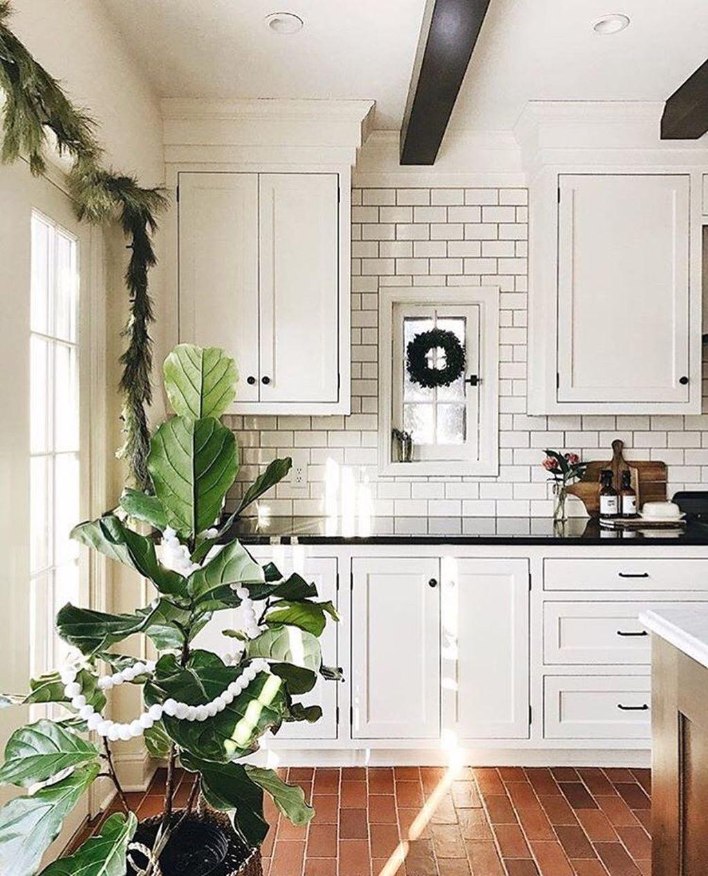25 brick floor kitchen ideas in 2020 brick floor kitchen kitchen inspiration design kitchen on farmhouse kitchen tile floor id=62898
