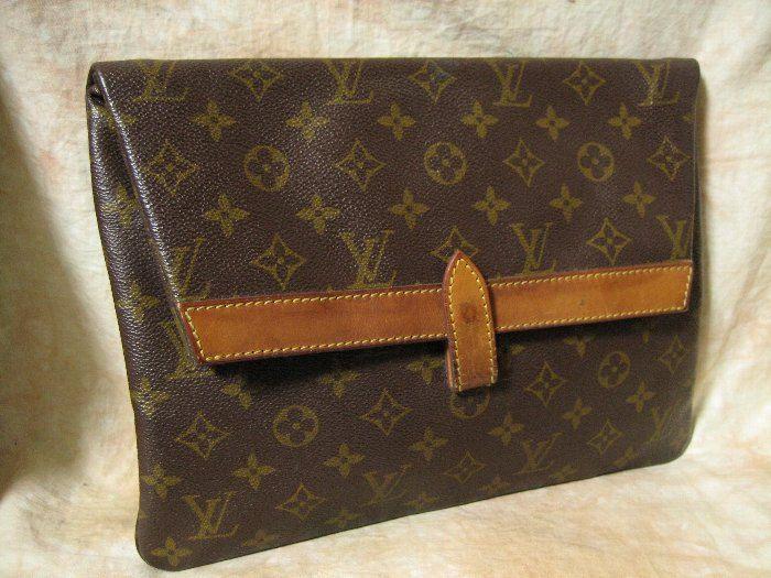 Louis Vuitton Vintage Mongram Envelope Clutch Bag Pochette Priant Cheap Designer Handbags Online Louis Vuitton Cheap Louis Vuitton Handbags