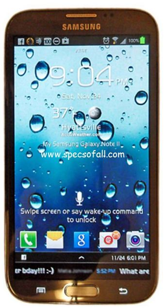 Samsung Galaxy Note 3 Full Specifications Price