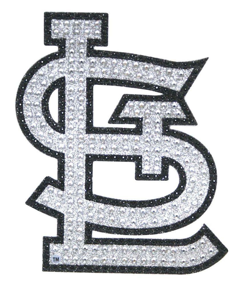 St Louis Cardinals Bling Auto Emblem New Mlb Car Decal Glitter Sticker Cdg Stlouiscardinals St Louis Cardinals Car Emblem Bling Sticker [ 1000 x 844 Pixel ]