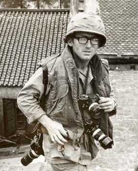 """Dana Stone (born 1939 North Pomfret, Vermont; believed killed 1971, Bei Met, Cambodia, age 32) was a photo-journalist best known for his work for CBS during the Vietnam War. Stone paid his own way to Vietnam in 1965, and became a stringer for UPI. A novice photographer when he arrived in Saigon, he soon became a combat photographer of note. Investigations by fellow photojournalist Tim Page, reported in the UK Sunday Times on 24 March 1991, indicate that Stone and Sean Flynn were captured…"