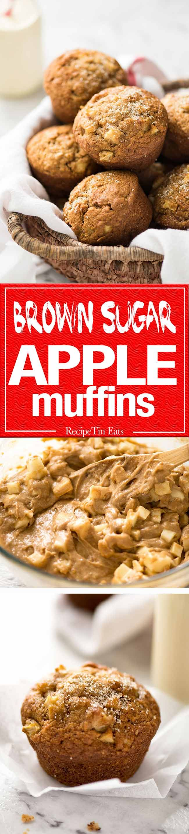 Magic Stay-Moist Apple Muffins
