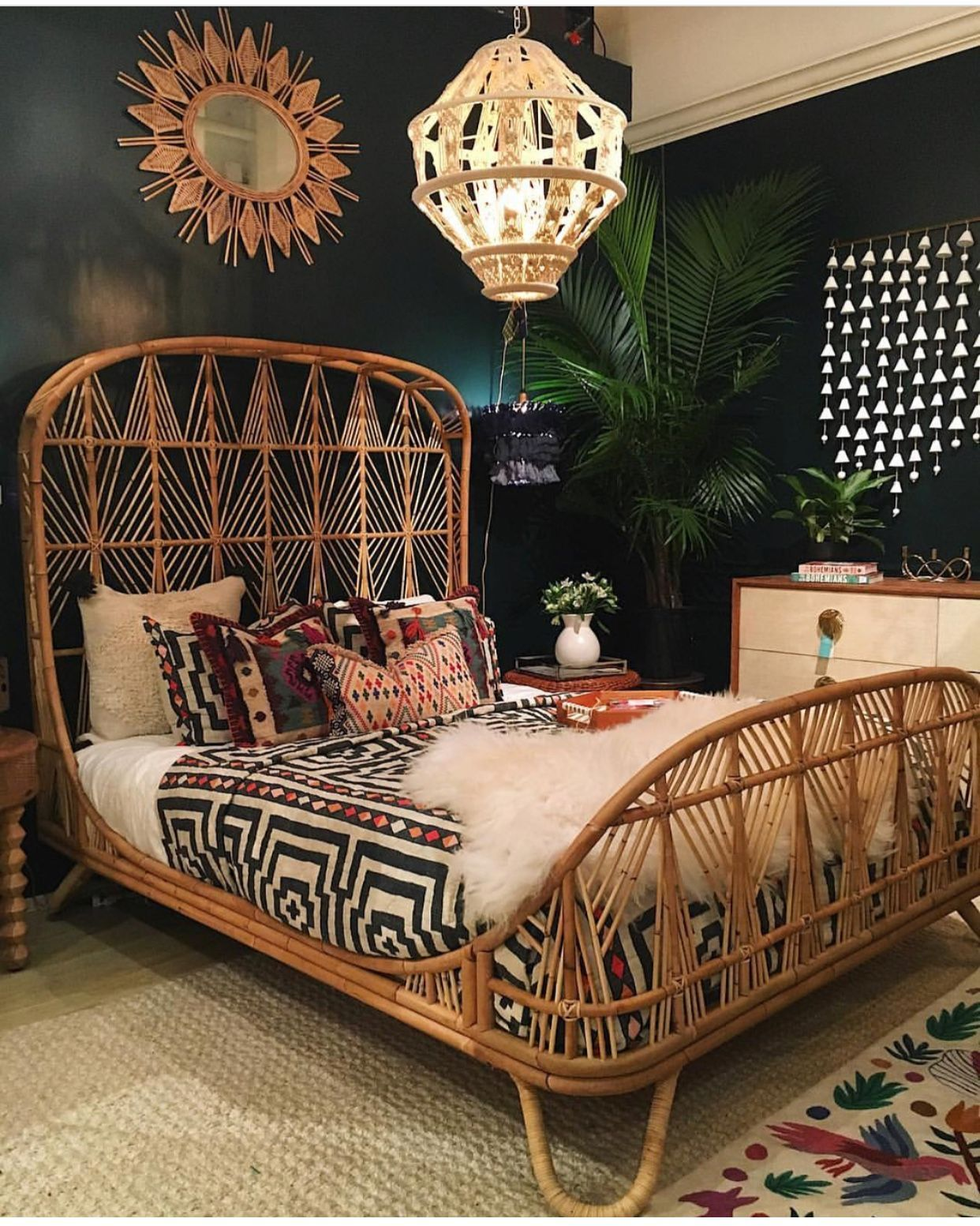 Boho | Prints & Artist Designed Goods Inspired by Life's ... on Modern Boho Bed Frame  id=60805