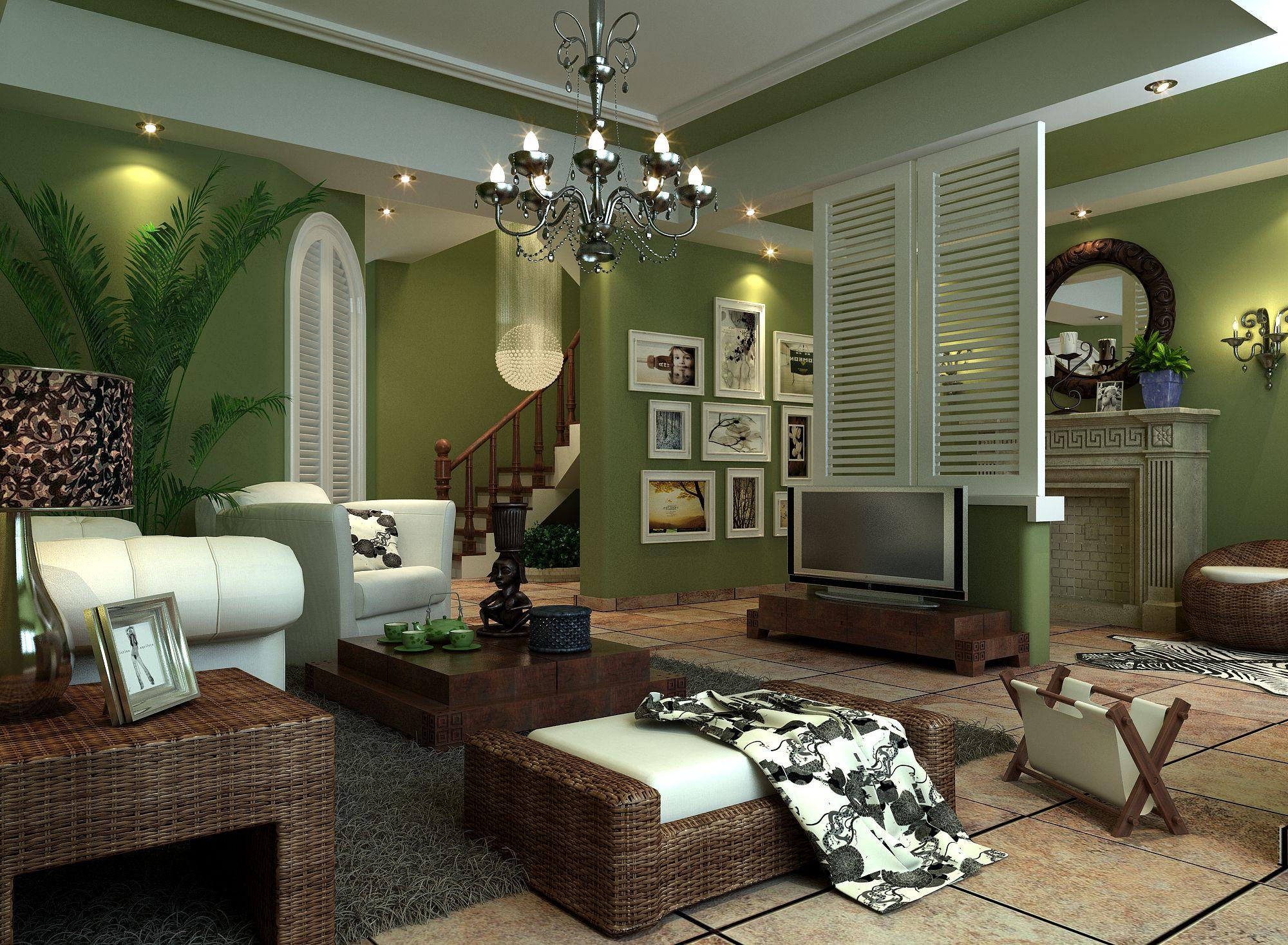 Inspiration Livingroom Natural Green Living Room Color