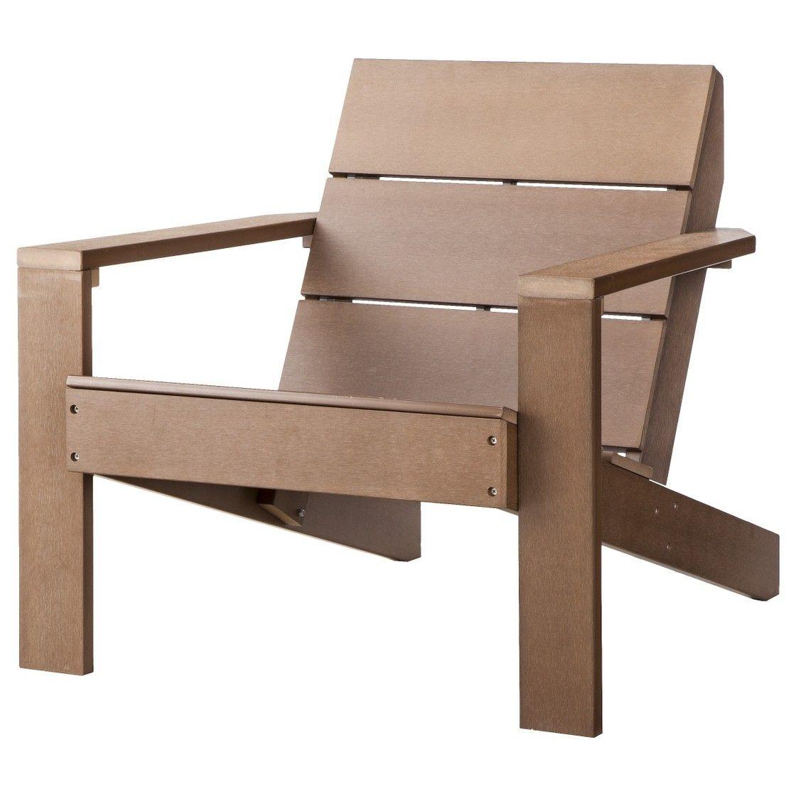 Threshold Bryant Faux Wood Patio Adirondack Chair Brown Patio Furniture Collection Adirondack Chairs Patio Wood Adirondack Chairs