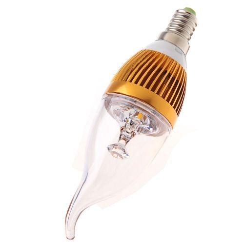 85V - 265V 3W E14 LED Light Bulb Candle Lamp White