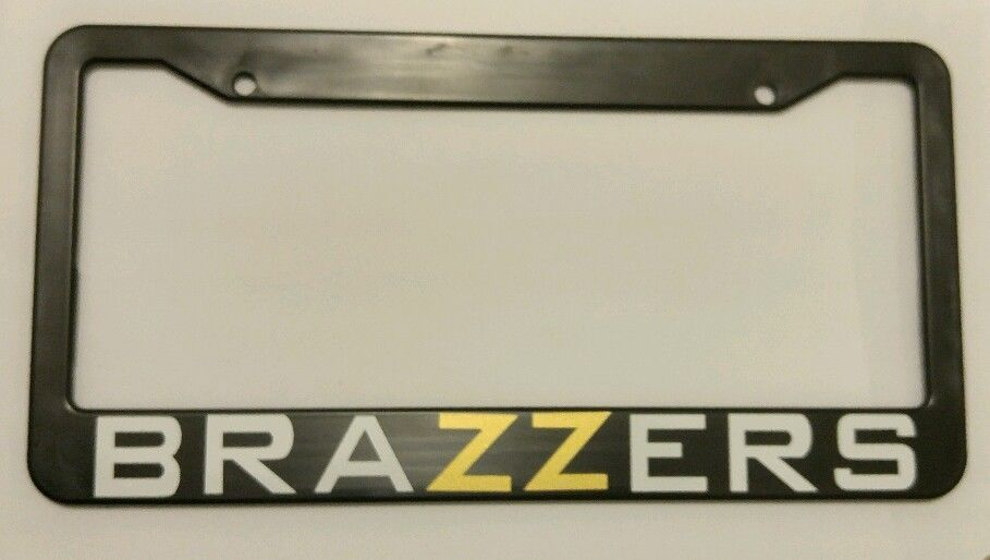 Brazzers license plate frame jdm kdm static camber stance funny ...