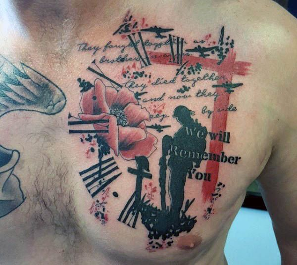 image result for lest we forget tattoo | remember | pinterest