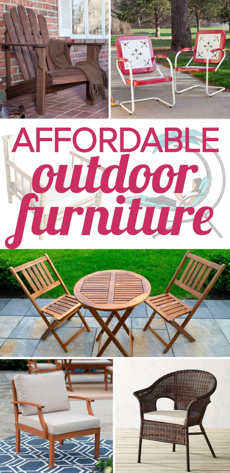 Affordable Outdoor Furniture That Doesnu0027t Skimp On Style Part 38