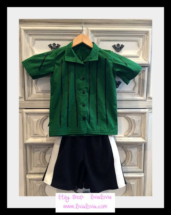 Green Striped Shirt Etsy Charlie Brown Costume Peppermint Patty Costumes Peanut Costume