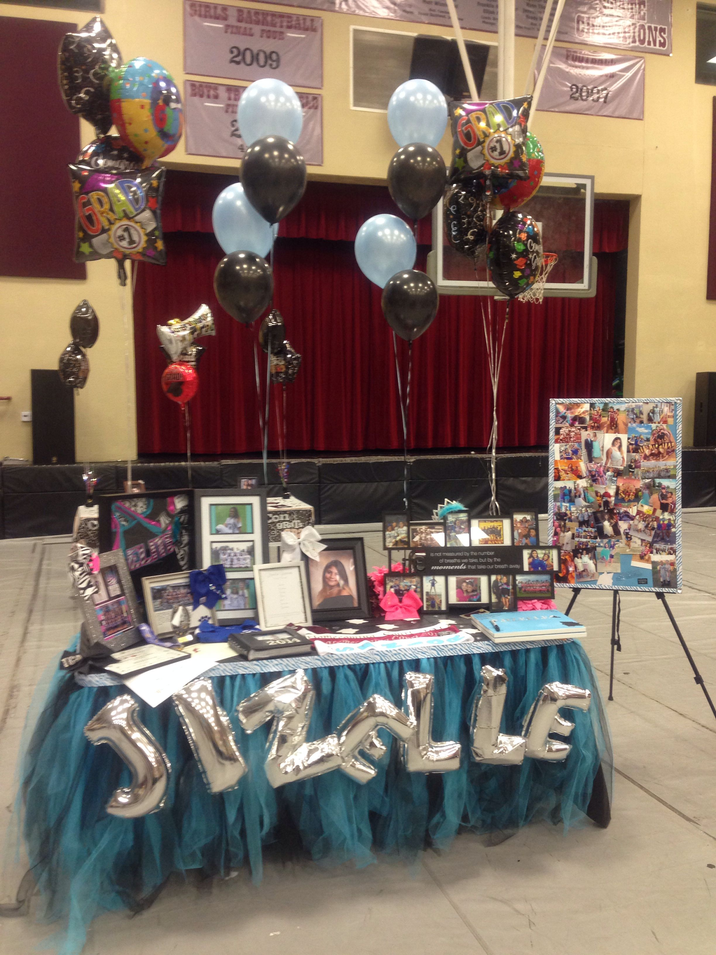 My Daughters Senior Table