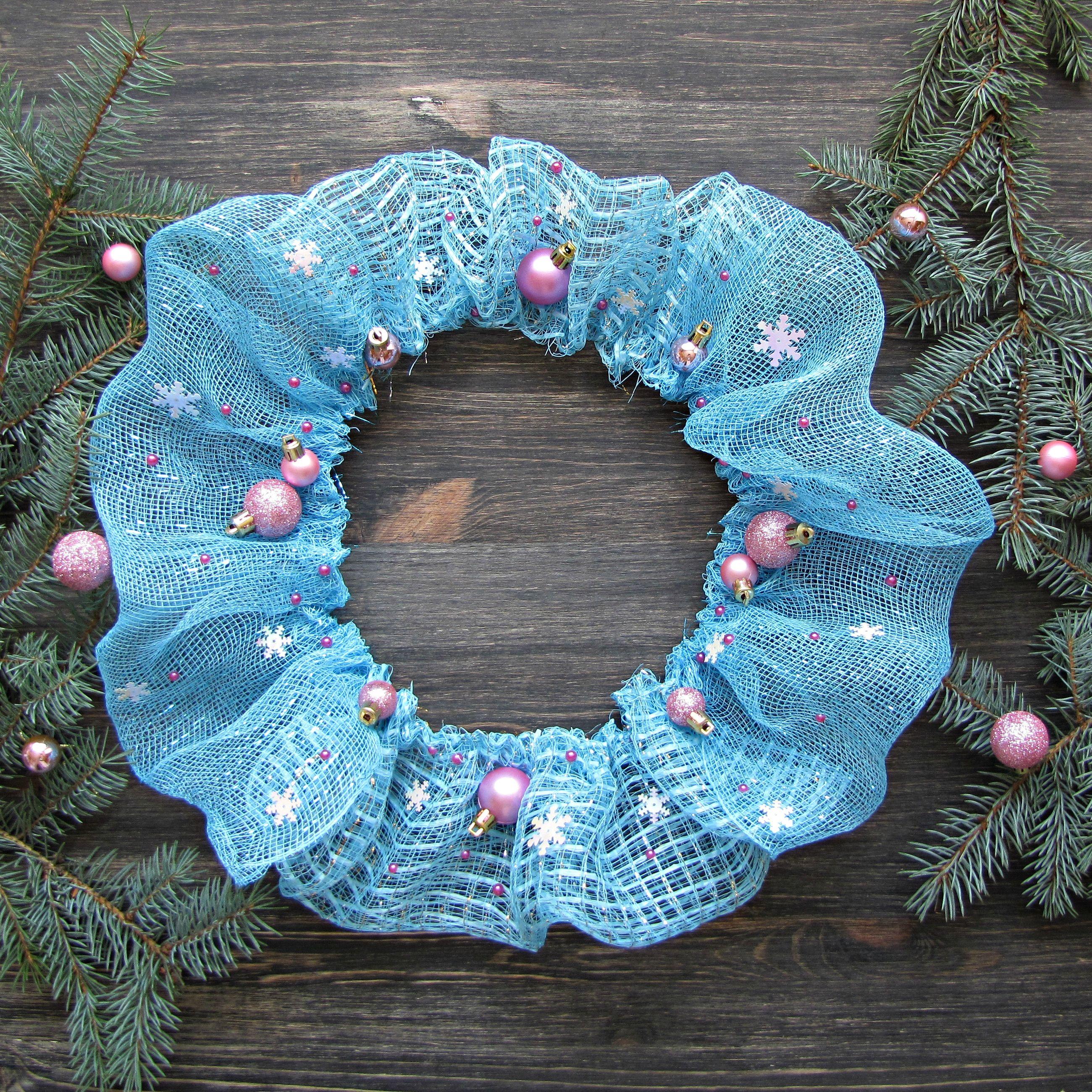 $55 Winter Wreath | Christmas Wreath | New Year Wreath | Wreaths ...