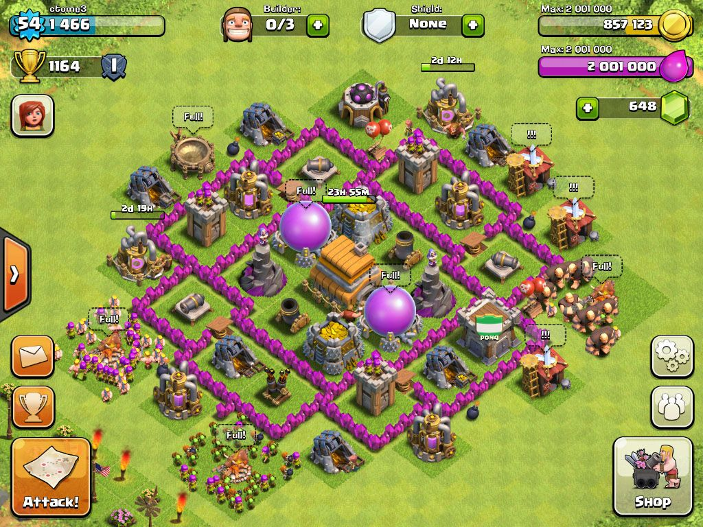 best town hall 6 base design