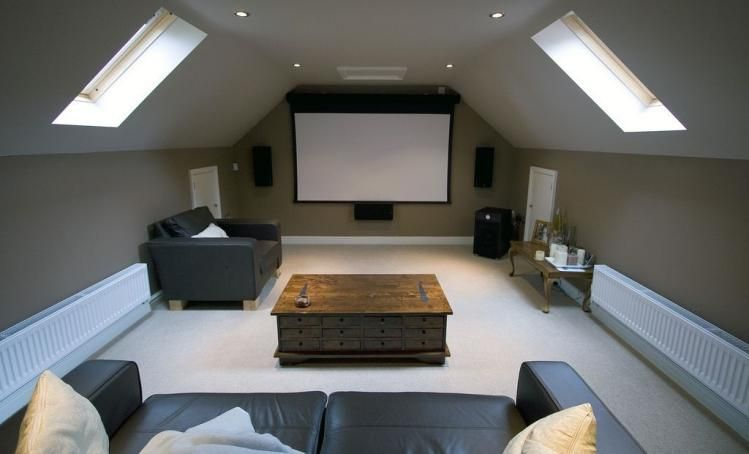 Blog 5 Best Attic Room Ideas That Can Improve Your Life Style Home Theater Rooms Home Cinema Room Loft Room