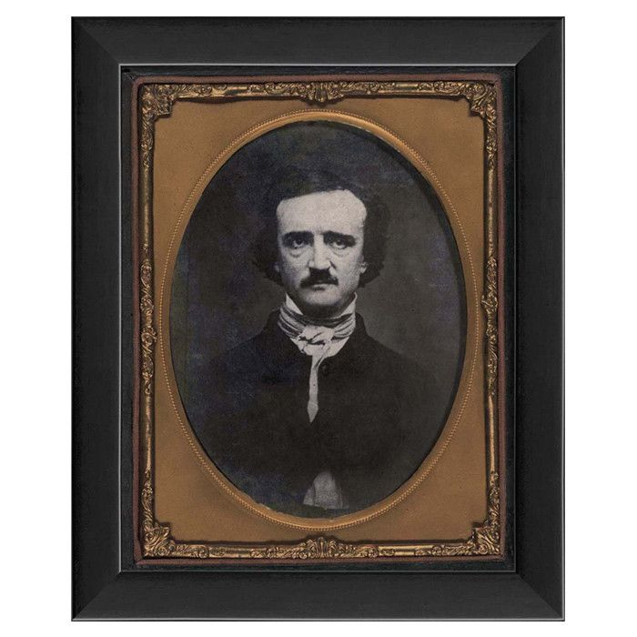 Edgar Allen Poe Framed Fine Art Print With Images Art Edgar Allen Poe Artwork
