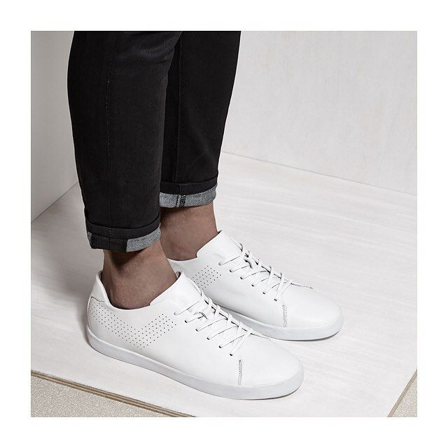 F/W 15 | Greenwich Leather: White Monochrome delivers an undistracted, modern aesthetic.