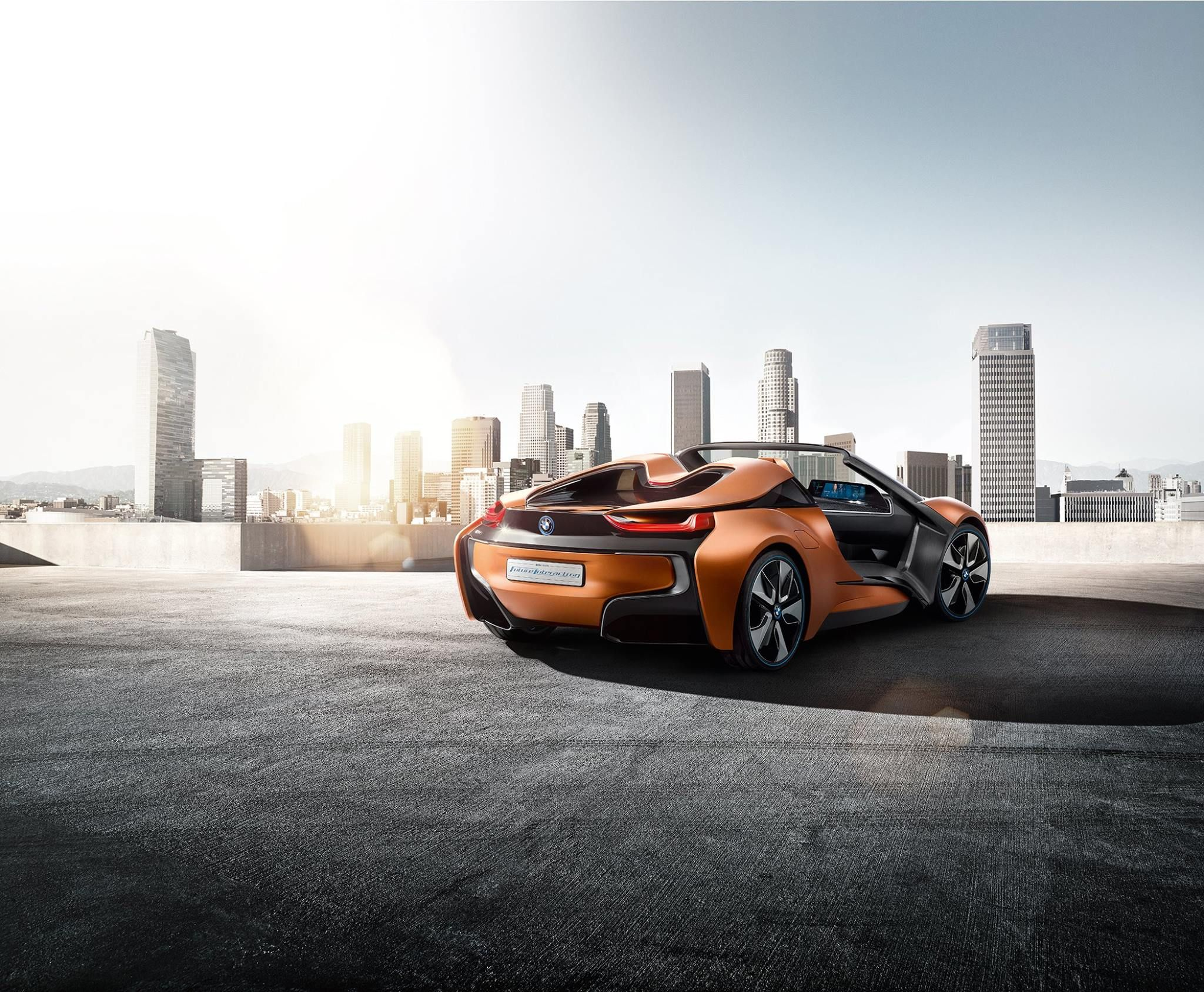 BMW i8 Vision Future Interaction