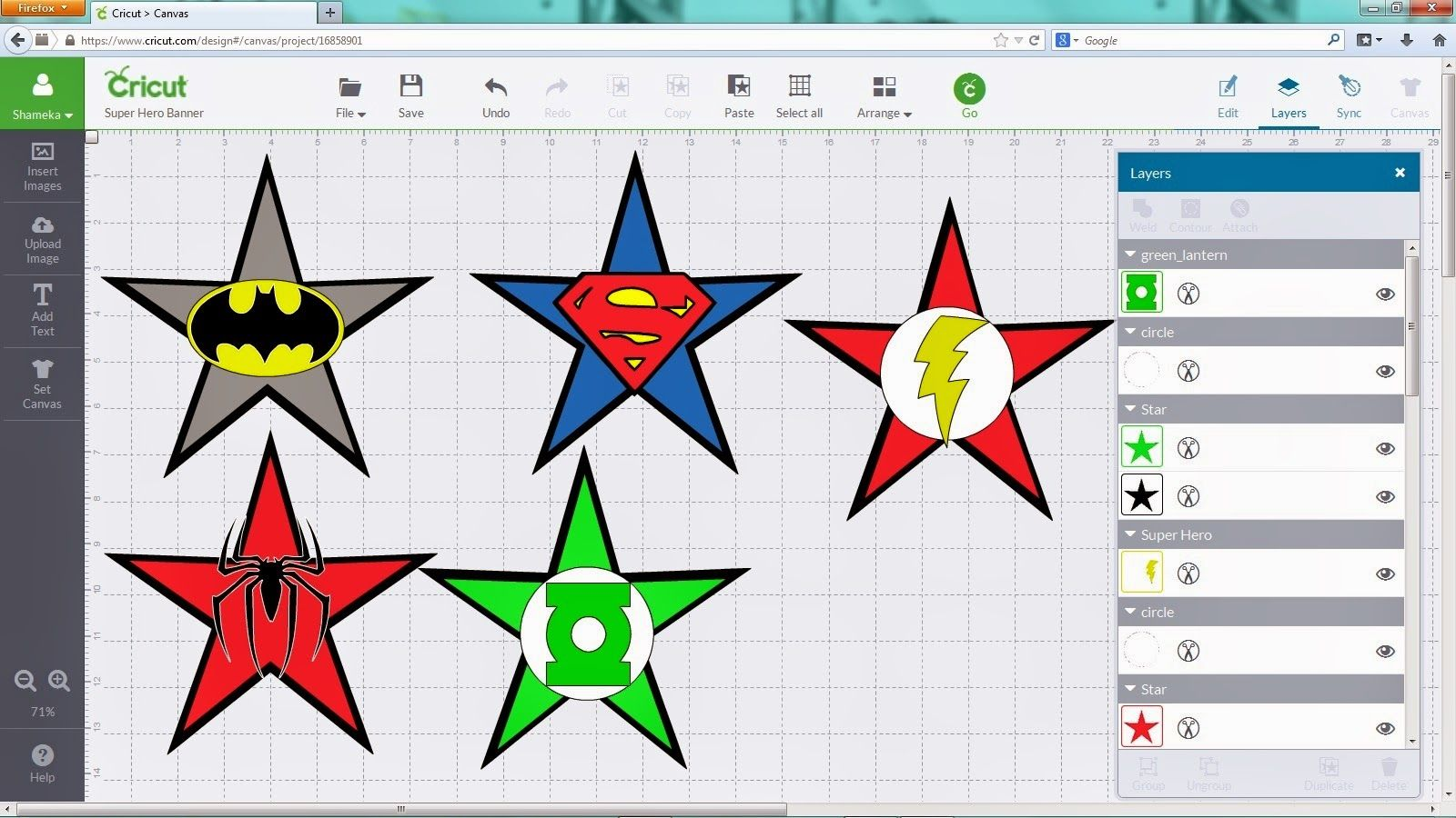 Crafting with Meek Super Hero Logo SVGs to download for