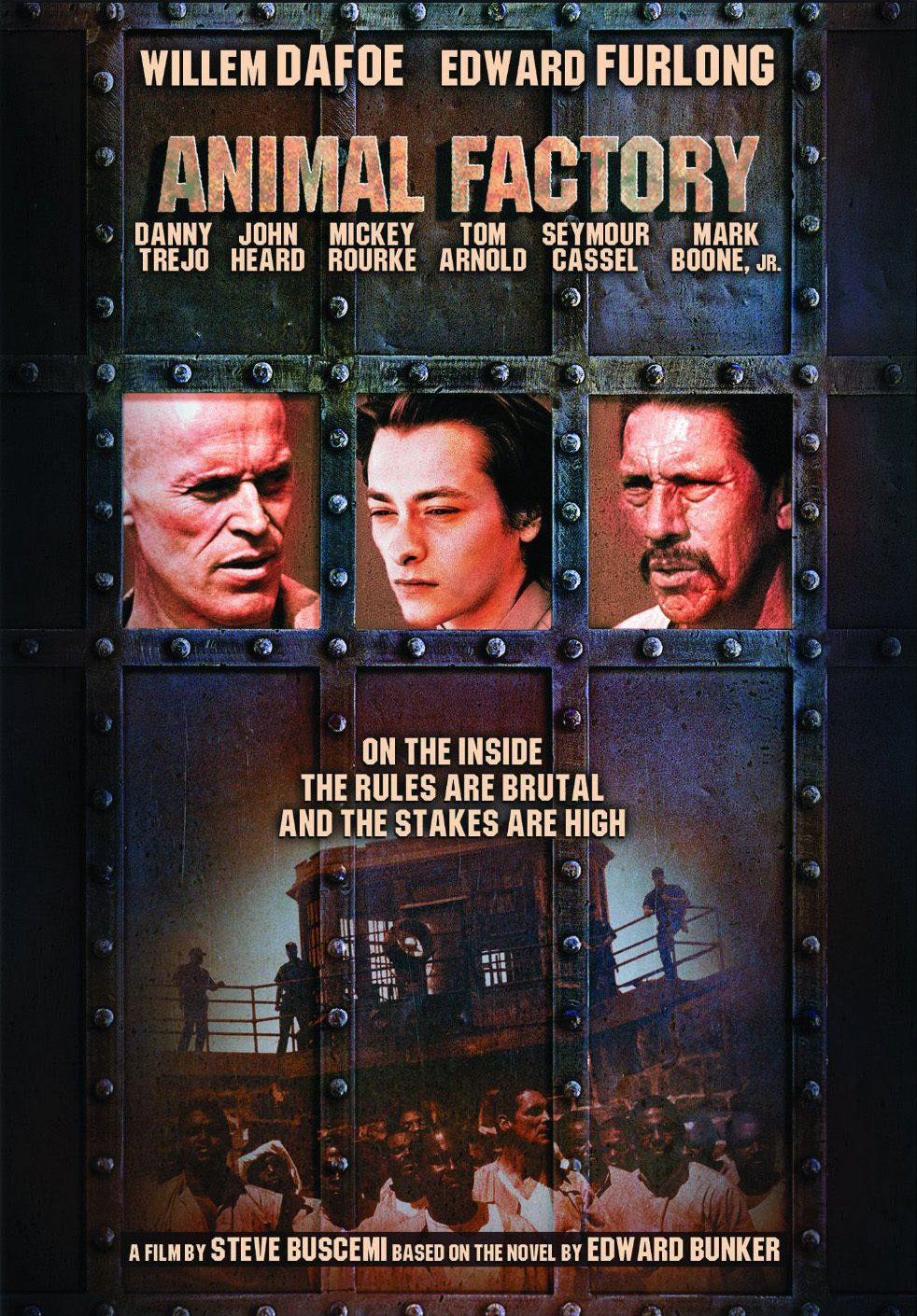 click image to watch Animal Factory (2000)