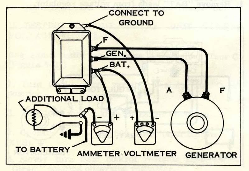 wiring a bosch voltage regulator  if you have a bosch