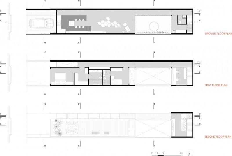 planos de casas 4 x 30