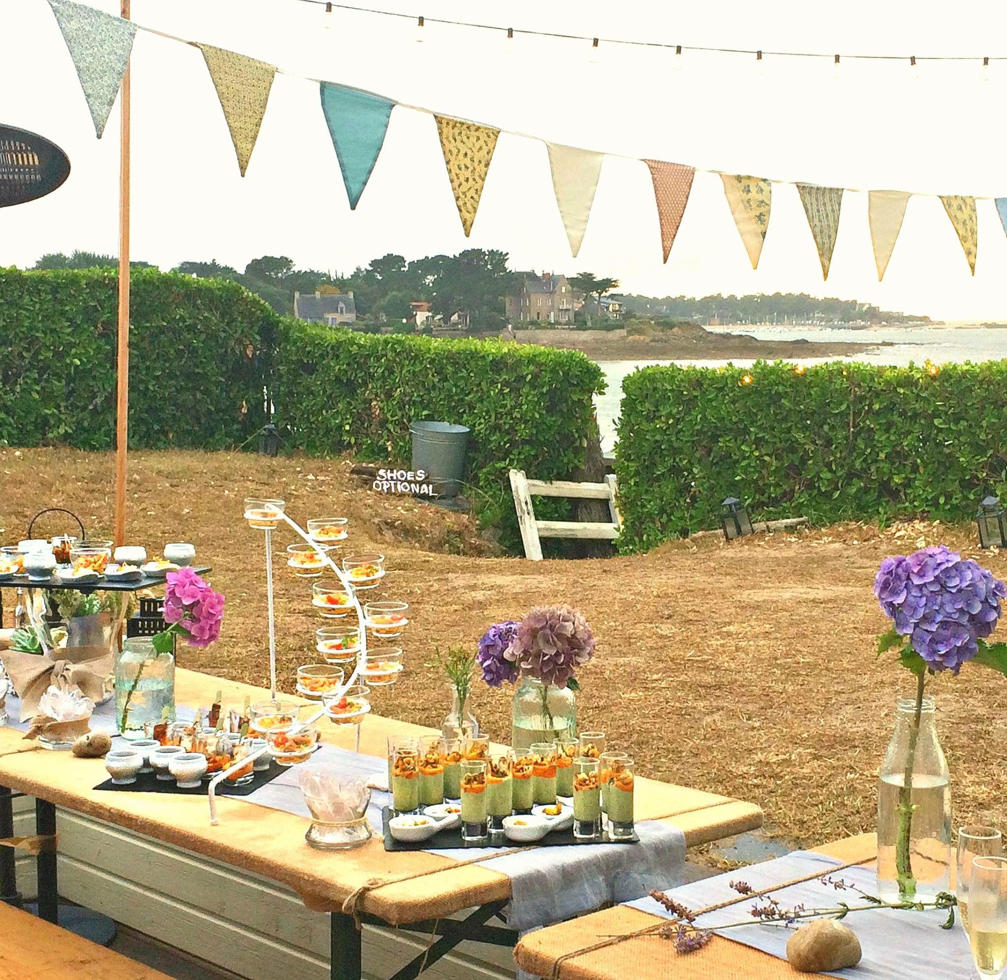 backyard beach house buffet tablescape outdoor events