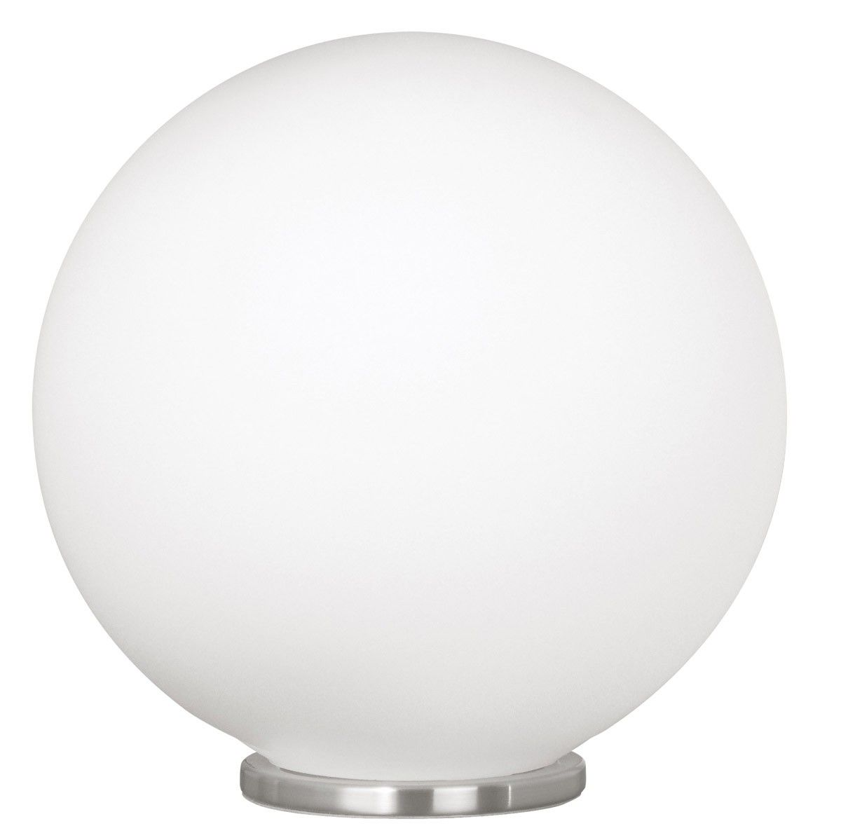 Eglo Schlafzimmer Lampe Eglo Rondo Table Lamp In Silver With Opal Frosted Glass