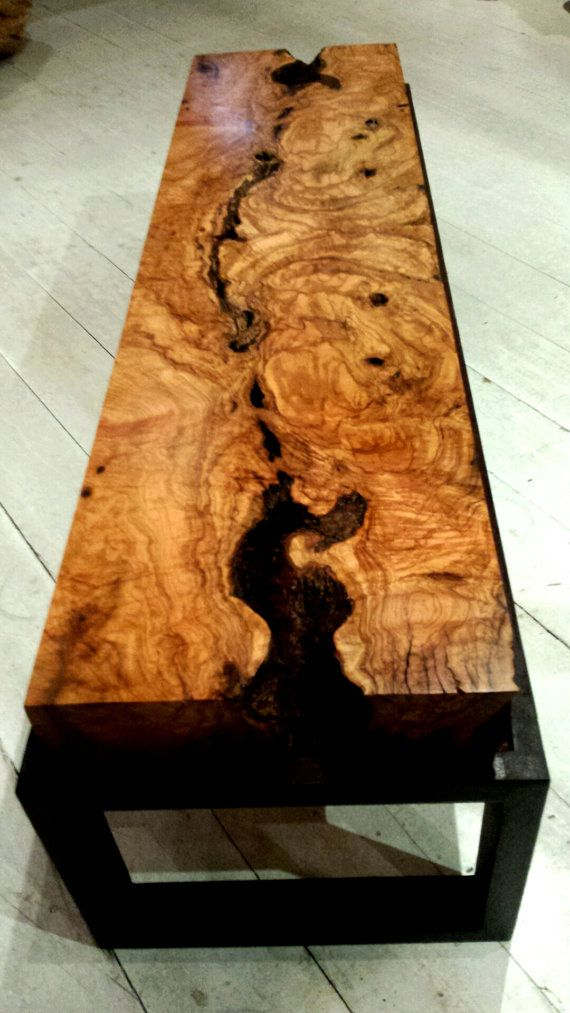 Solid Olive Burl Table Reserved For Candrew Wood Raw