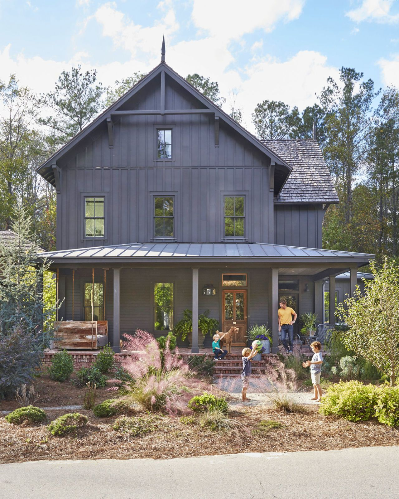 Welcome to the Porch Capital of America | Drought resistant ... for Vintage Farmhouse Exterior  45hul
