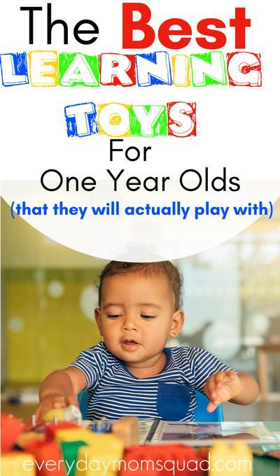 Best 44 Toys For 1-Year Olds: Ones They Will Actually Play ...
