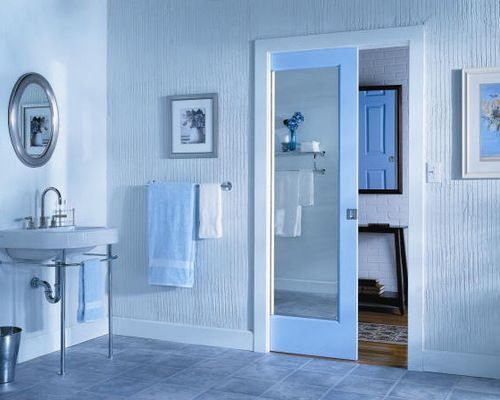 For Small Bathrooms Pocket Doors Are Becoming More And Utilized As A Space Saving Door