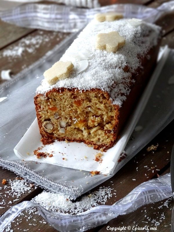 Cake de Noël aux agrumes, fruits secs et confits { Bataille Food # 18