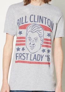 ddc99c54f Bill Clinton First Lady T-Shirt | Man stuff | T shirts for women, T ...