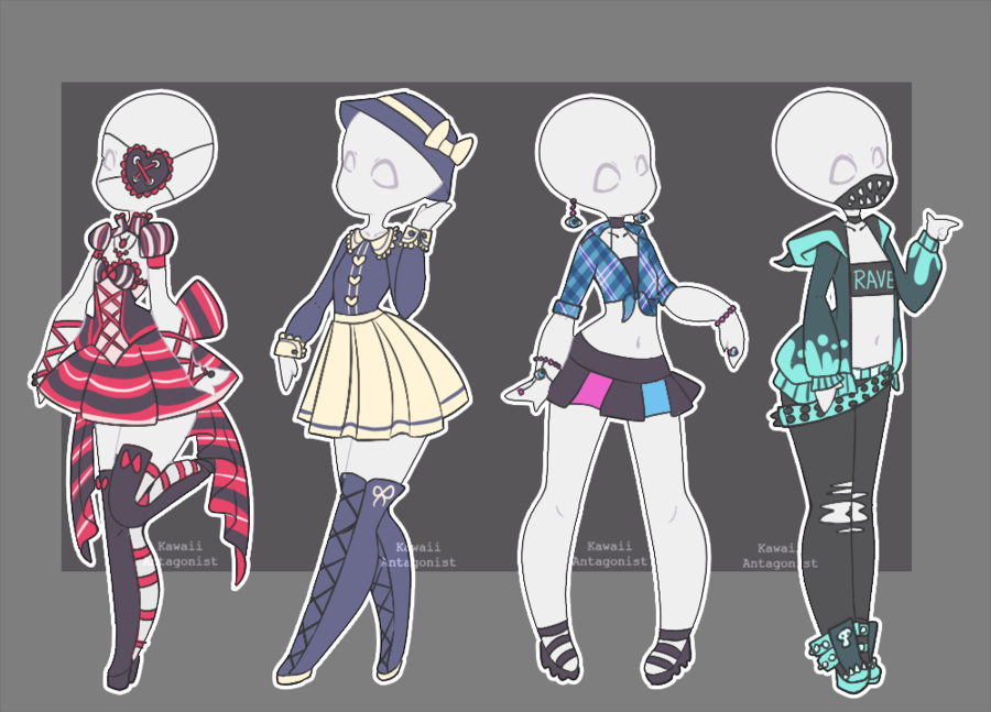 Anime Character Design Base : Lovelyloren valyrianadopts
