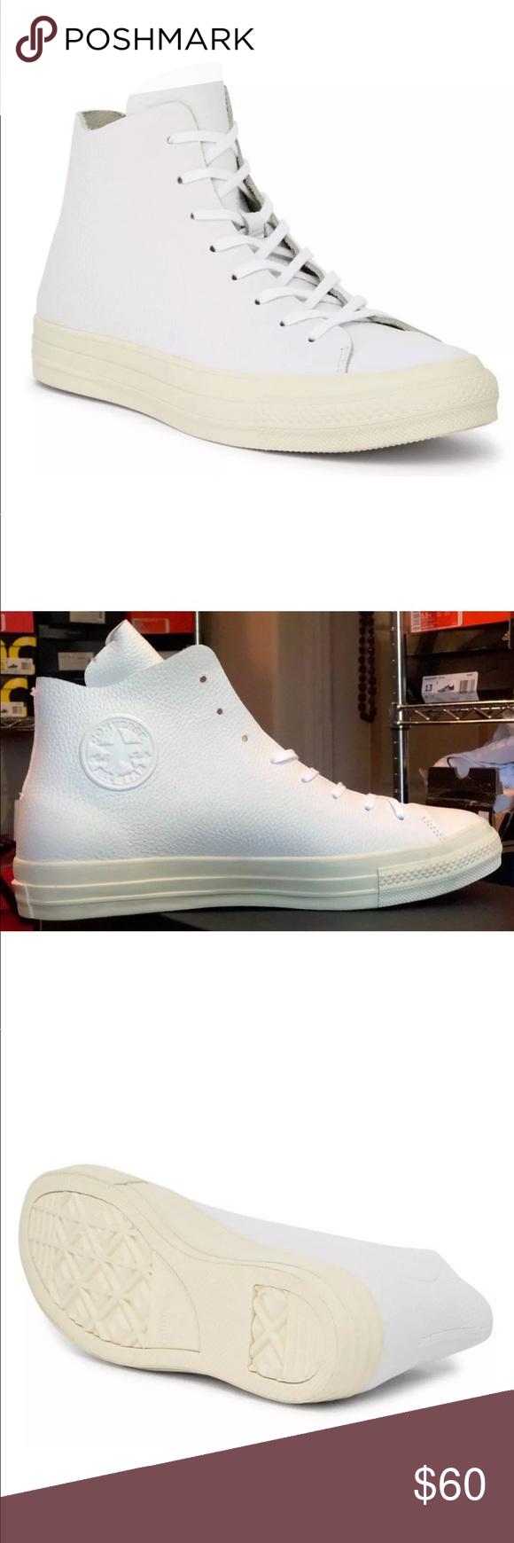 Men s Converse CTAS Prime Hi Top Leather Shoes AUTHENTIC CONVERSE CTAS PRIME  HI TOP SNEAKERS MEN S 35f1e2f64