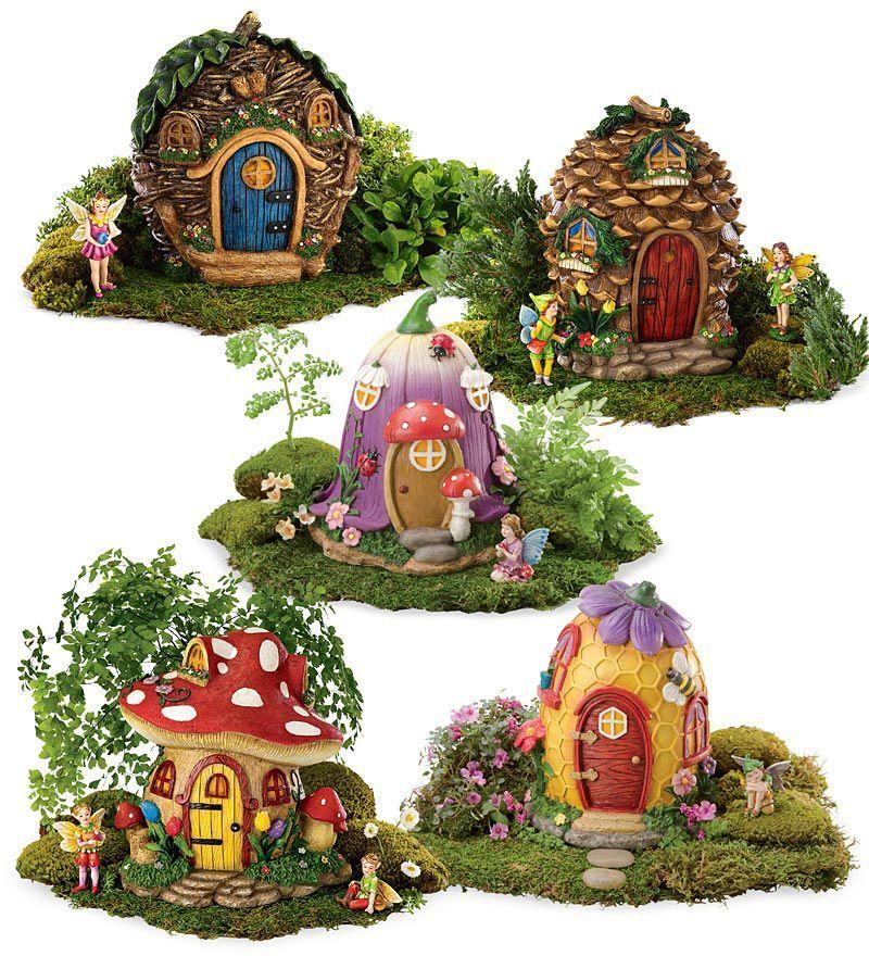 Gnome Garden: Fairy House - Tulip Or Mushroom
