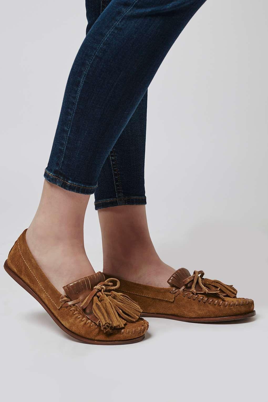 9b4888bbfa0 KIMONO Moccasin Loafer - Flats - Shoes - Topshop