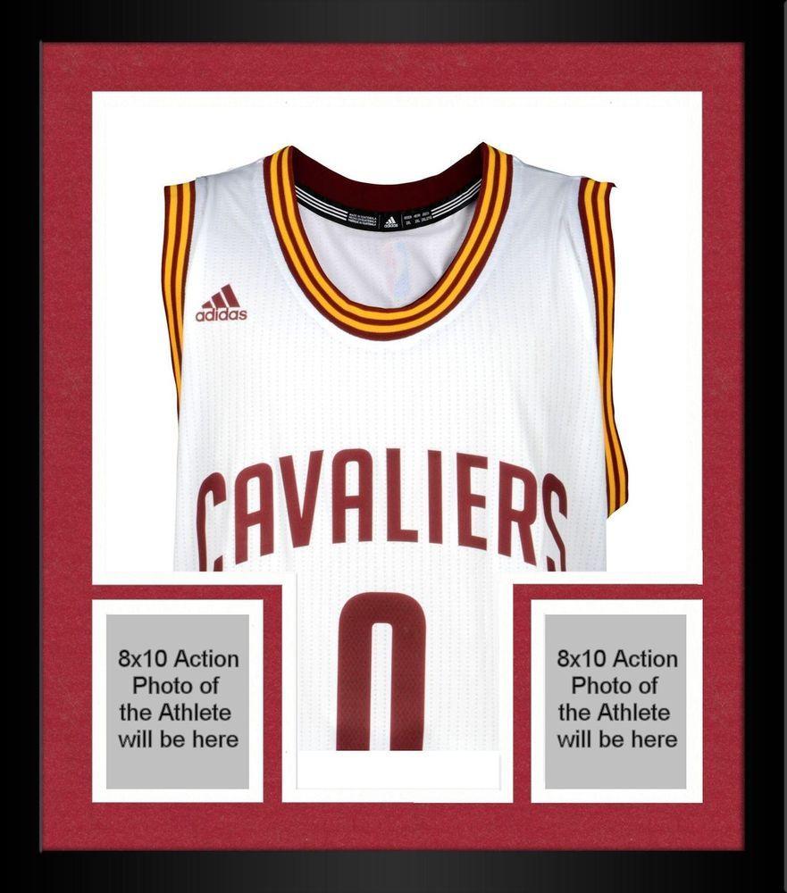 938b0ffa4e1 Framed Kevin Love Cleveland Cavaliers Signed White Adidas Swingman Jersey  #Basketball