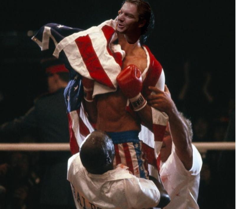 Dennis Quaid As Rocky Balboa Rocky Balboa The Expendables Actress Christina