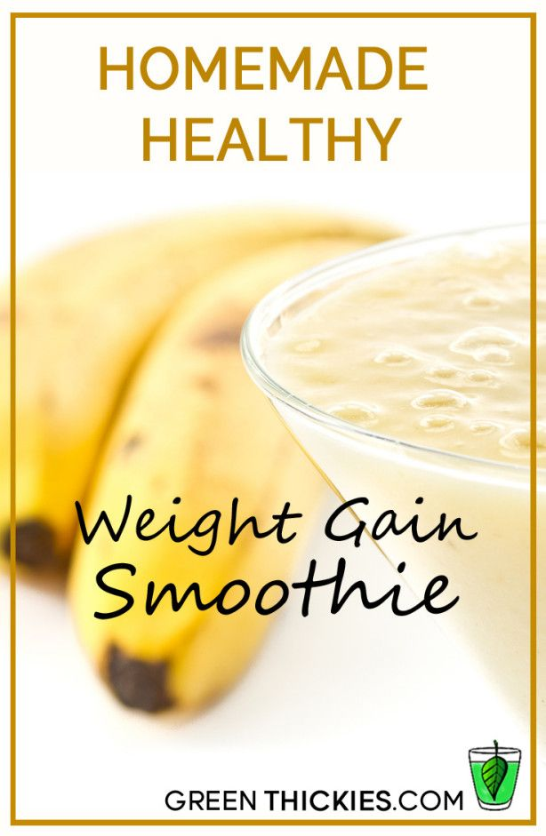 Homemade healthy weight gain smoothie healthy weight gain homemade healthy weight gain smoothie forumfinder Images