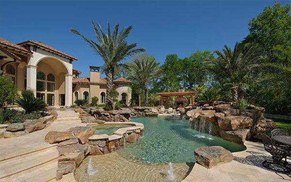 15 Ideas For Daunting Mediterranean Pool Designs Perfect Backyard
