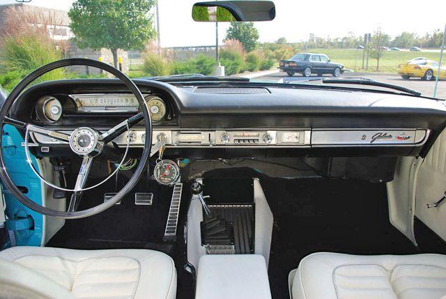 1964 Ford Galaxie 500 Xl Dash View Ford Galaxie 500 Ford