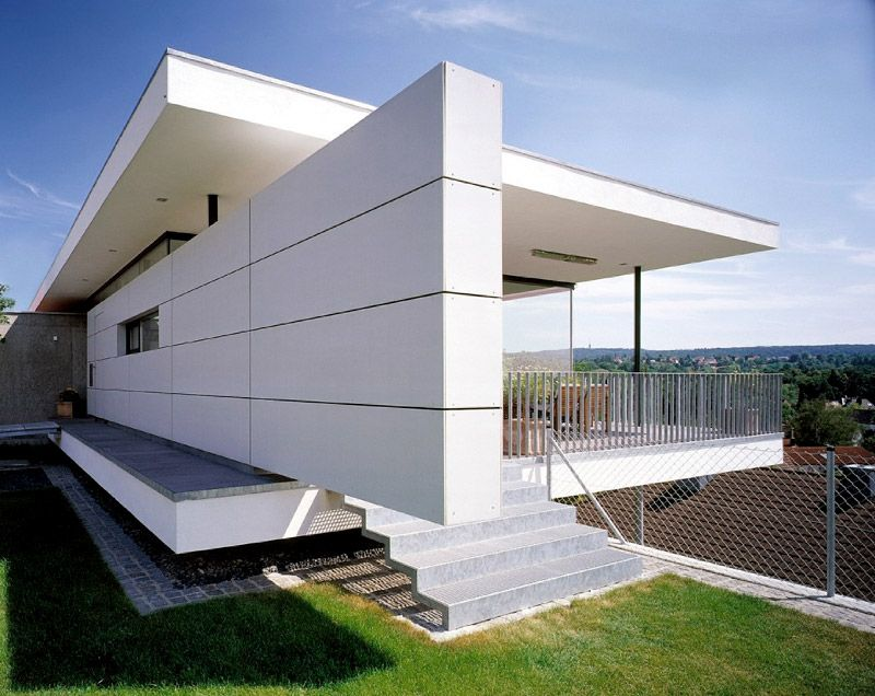 fundermax kompozit facade pinterest moderne h user und h uschen. Black Bedroom Furniture Sets. Home Design Ideas