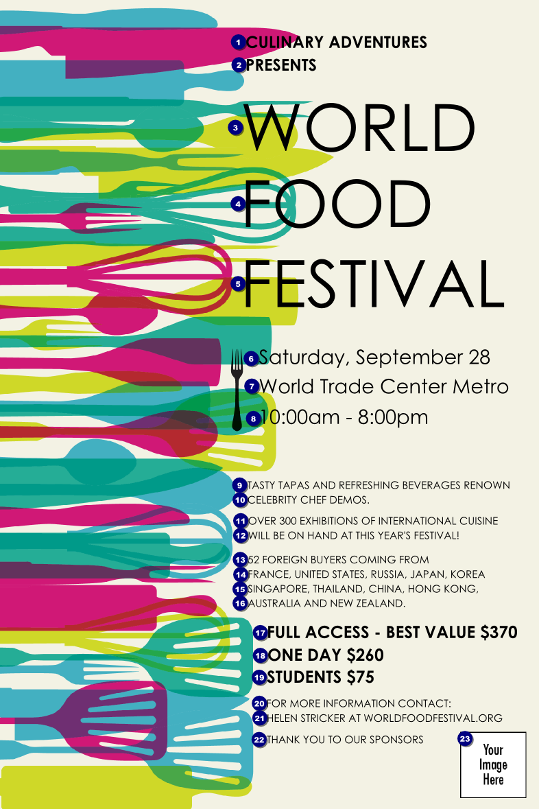 Best International Food Festival Ideas